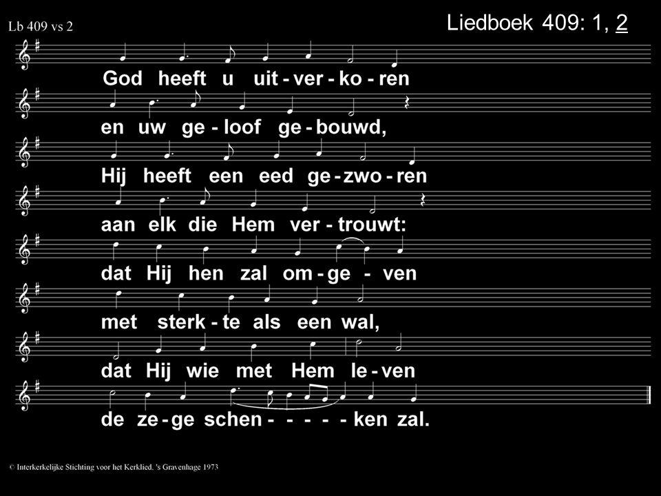 .... Zingen: Liedboek 300: 1, 2 Dankgebed en voorbeden Collecte Zingen: Liedboek 460: 1, 2 Zegen