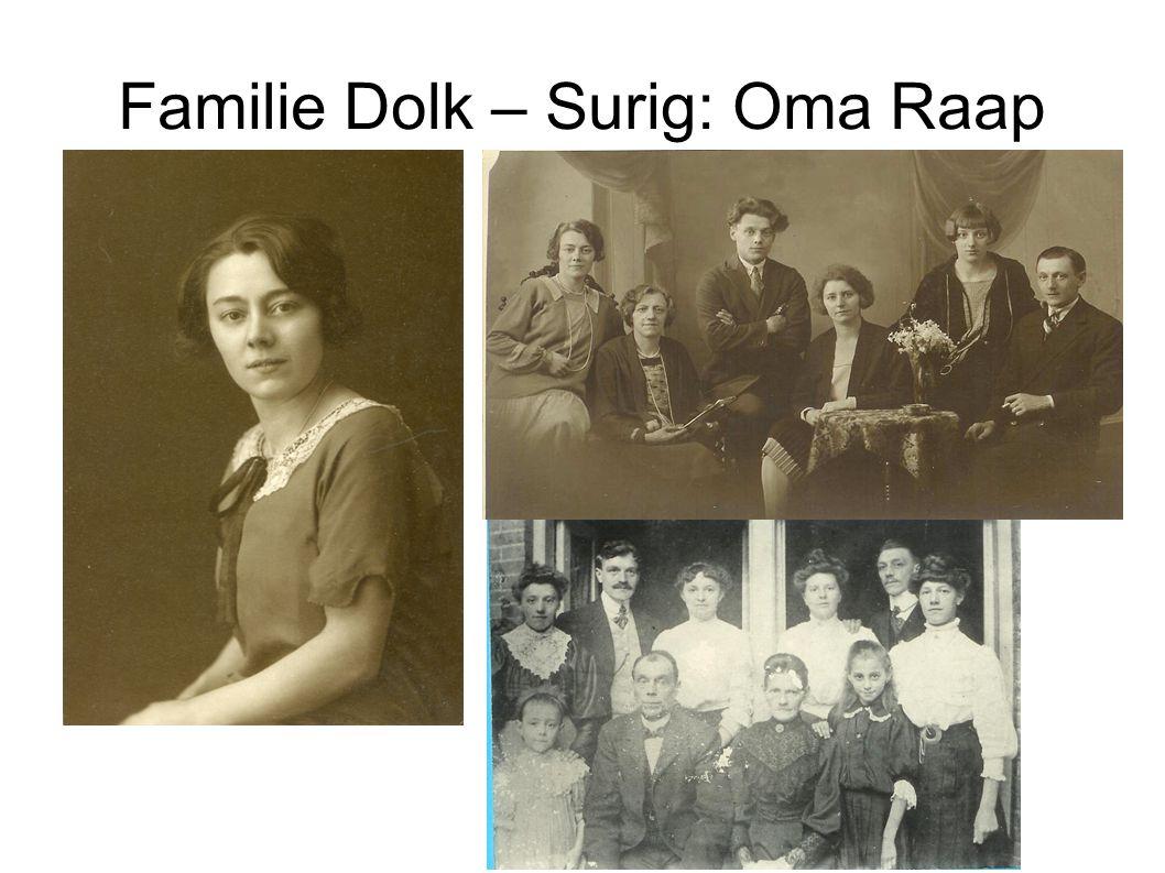 Familie Dolk – Surig: Oma Raap