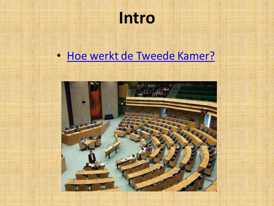 Intro Hoe werkt de Tweede Kamer?