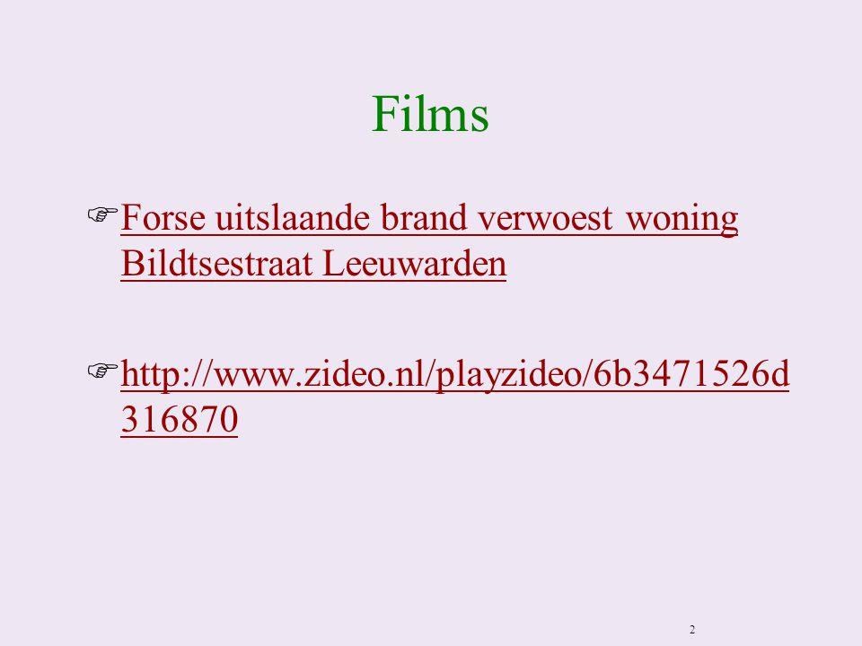 Films FForse uitslaande brand verwoest woning Bildtsestraat LeeuwardenForse uitslaande brand verwoest woning Bildtsestraat Leeuwarden Fhttp://www.zideo.nl/playzideo/6b3471526d 316870http://www.zideo.nl/playzideo/6b3471526d 316870 2
