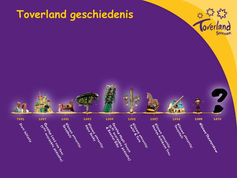 Veiligheid in Toverland De allerbelangrijkste kernwaarde om een professioneel attractiepark te zijn is: veiligheid!!.