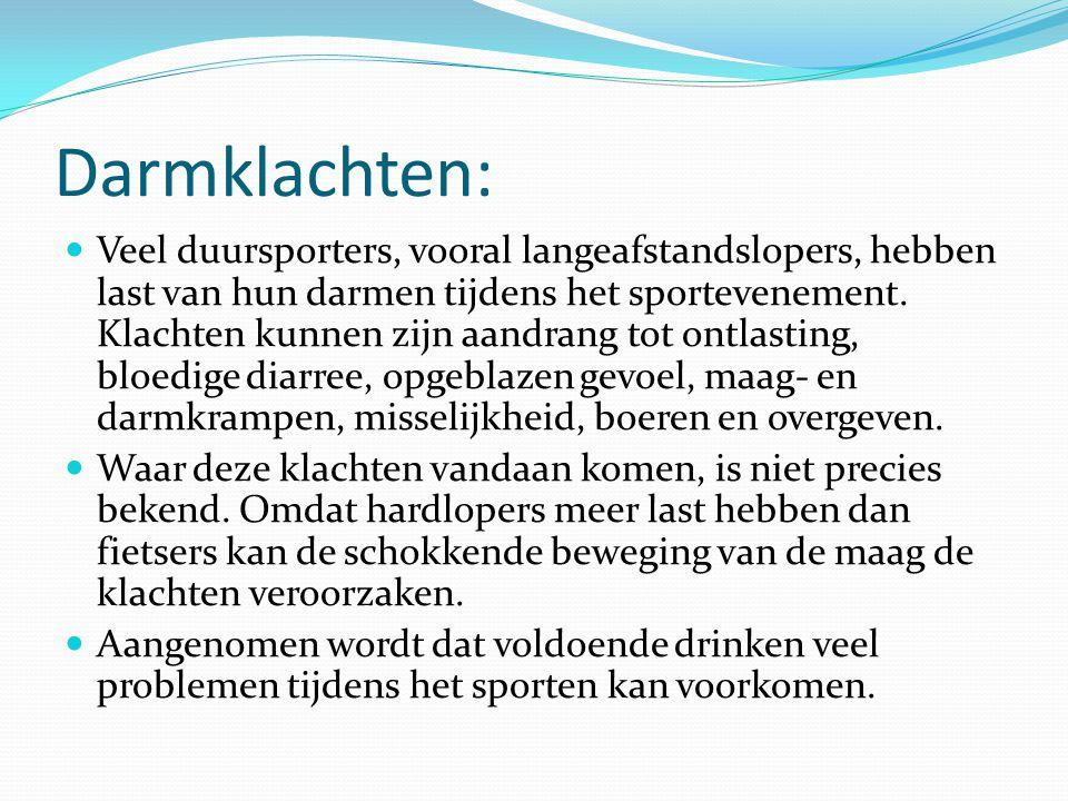 Vitamines en sport De gemiddelde sporter die zich houdt aan de regels voor gezonde voeding, krijgt meer dan genoeg vitamines en mineralen binnen.
