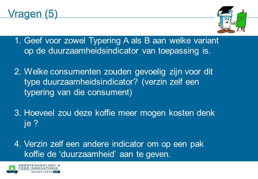 Vragen (5) 1.