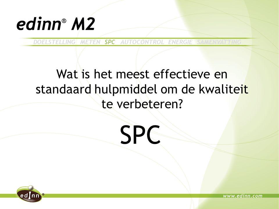 Wat is het meest effectieve en standaard hulpmiddel om de kwaliteit te verbeteren.