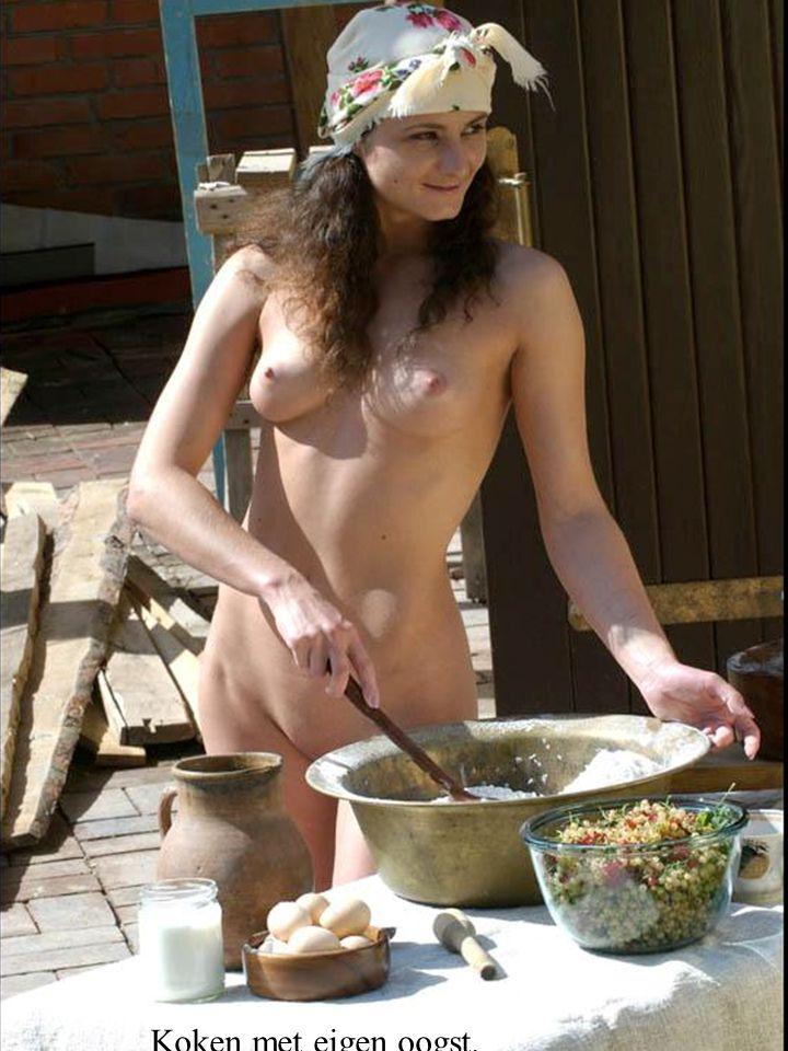 Koken met eigen oogst.