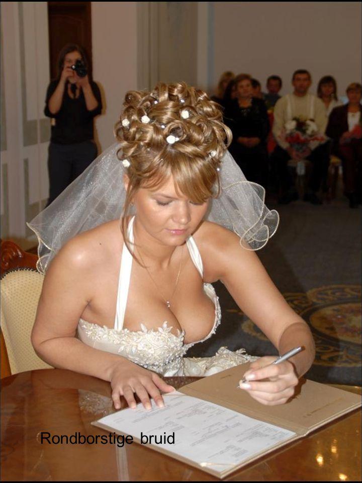 Rondborstige bruid