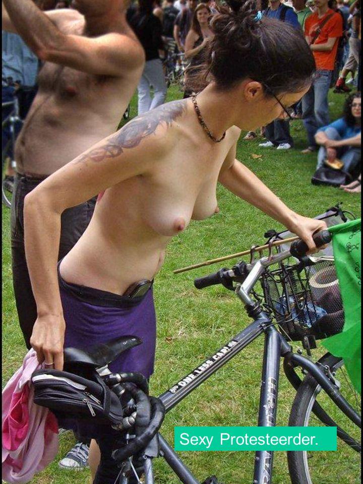 Sexy Protesteerder.