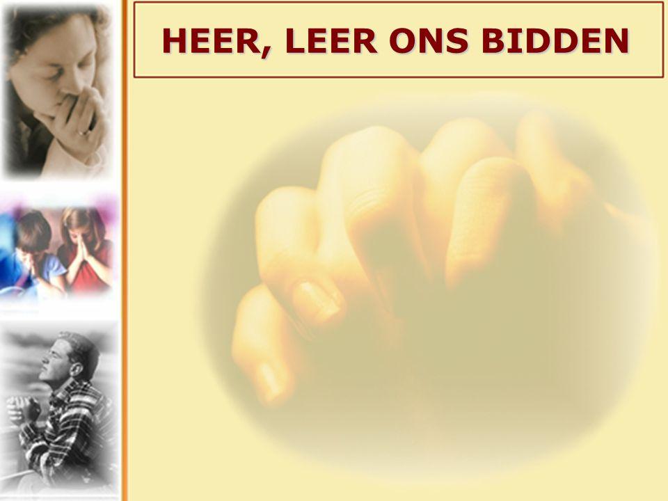 GEEF ONS VANDAAG HET BROOD DAT WIJ NODIG HEBBEN