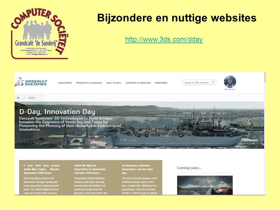 Bijzondere en nuttige websites http://www.3ds.com/dday