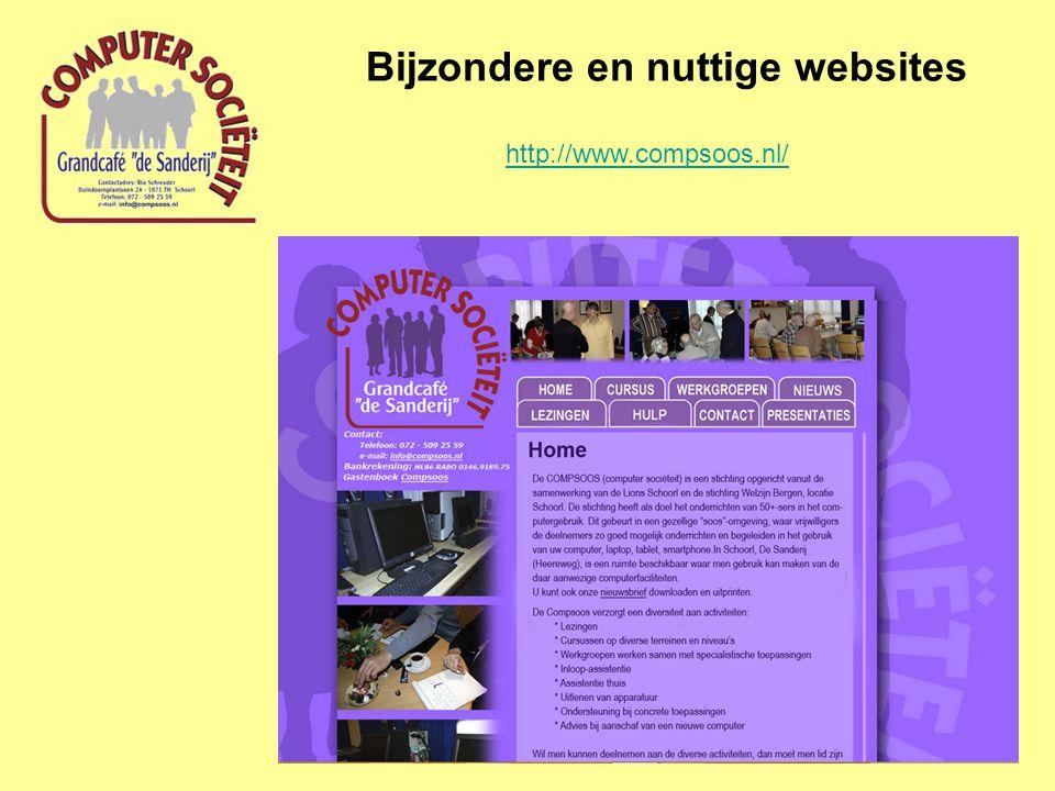 Bijzondere en nuttige websites http://www.compsoos.nl/