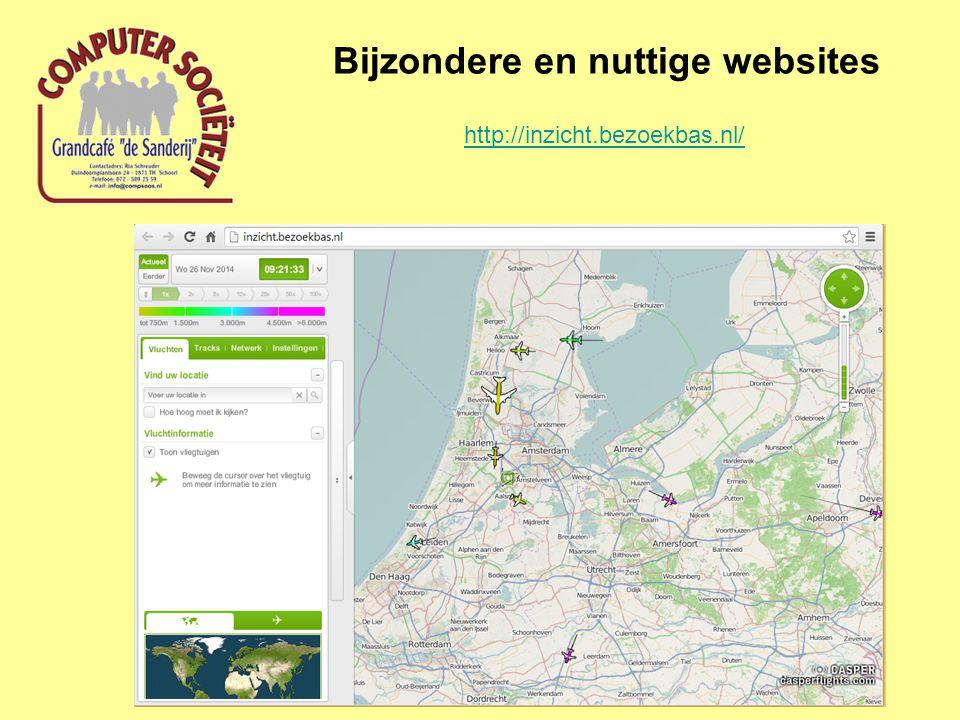 Bijzondere en nuttige websites http://inzicht.bezoekbas.nl/