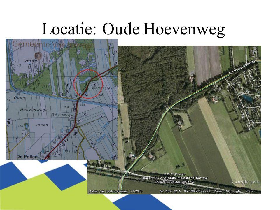Locatie: Oude Hoevenweg