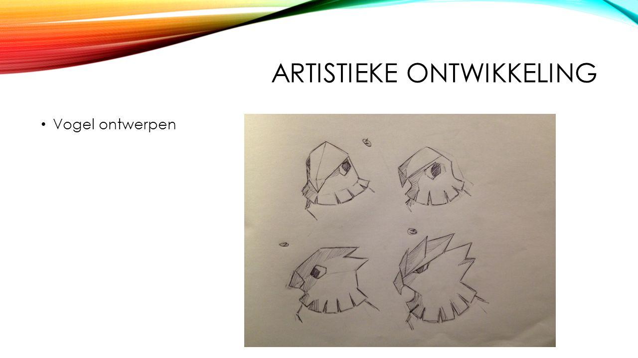 ARTISTIEKE ONTWIKKELING Vogel ontwerpen