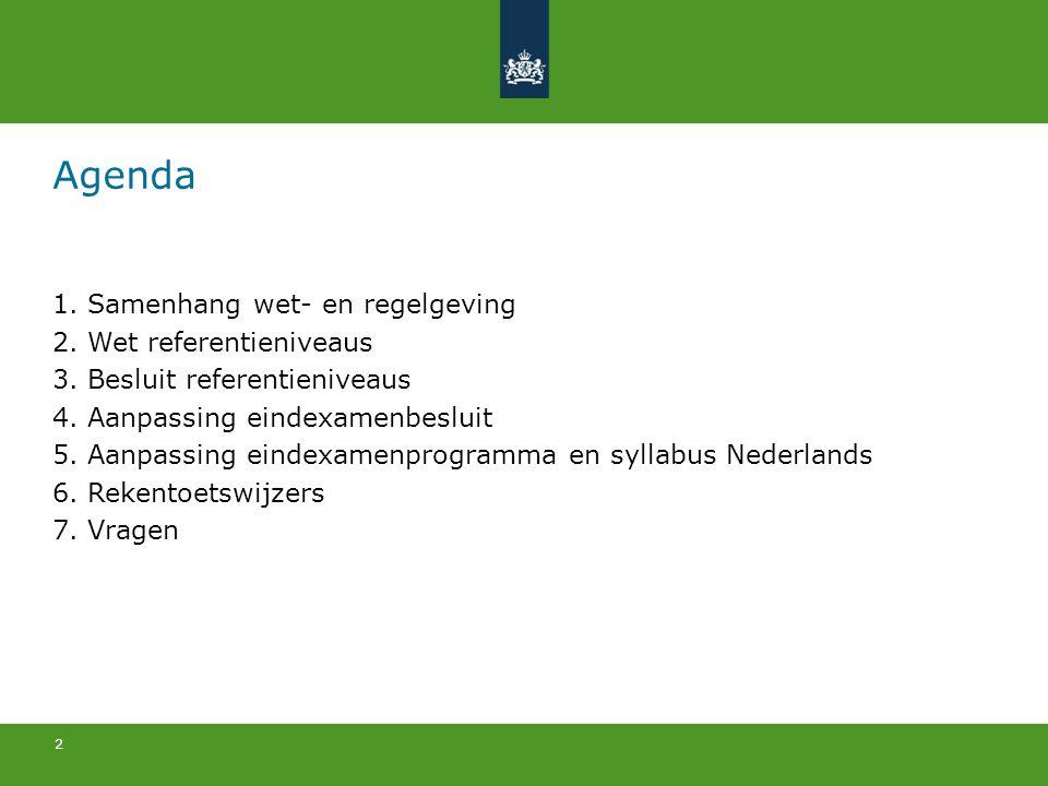 3 Overzicht implementatie 2011-20122012-20132013-2014 Eerste pilotjaar rekentoets Tweede pilotjaar rekentoets (generale repetitie) Invoering rekentoets en afgestemd examen Nederlands