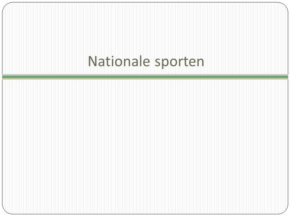 Nationale sporten