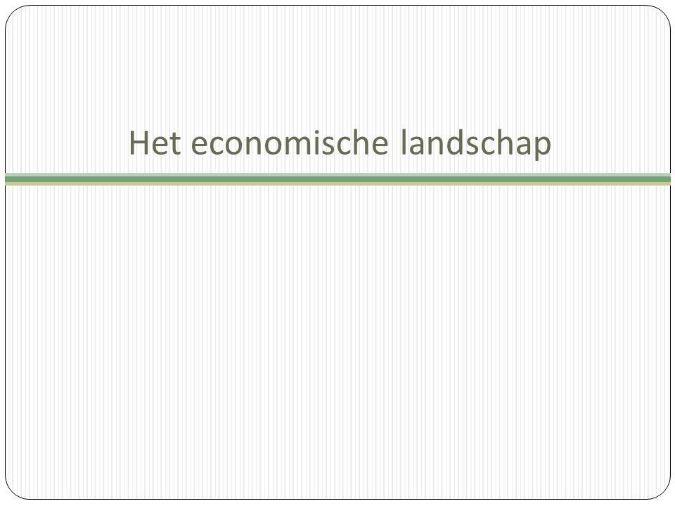 Het economische landschap