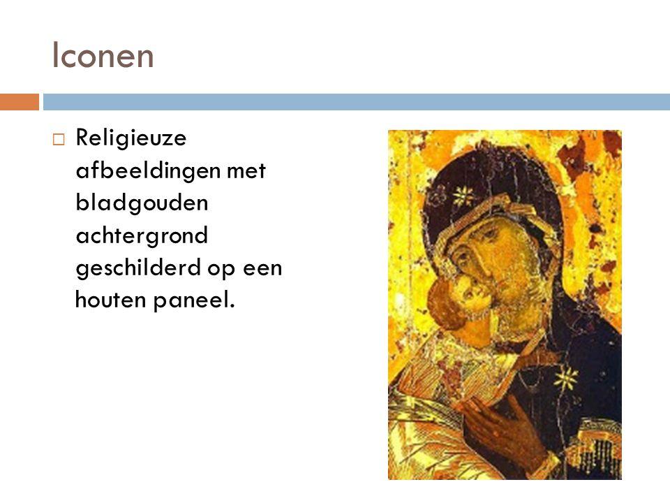 Godsdiensttwisten: 726 - 843  Wat: Verbod op verering van iconen, het icoon zelf werd verboden.