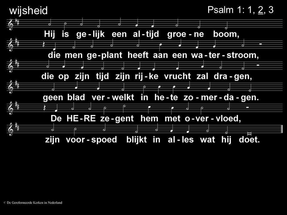 Zegen = Psalm 134: 3....