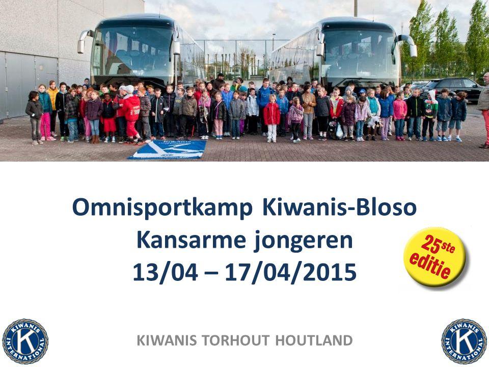 Omnisportkamp voor 120 kansarme kinderen uit de divisies West- Vlaanderen Voor veel kinderen is op vakantie gaan vanzelfsprekend, voor anderen is dit een ongekende luxe.