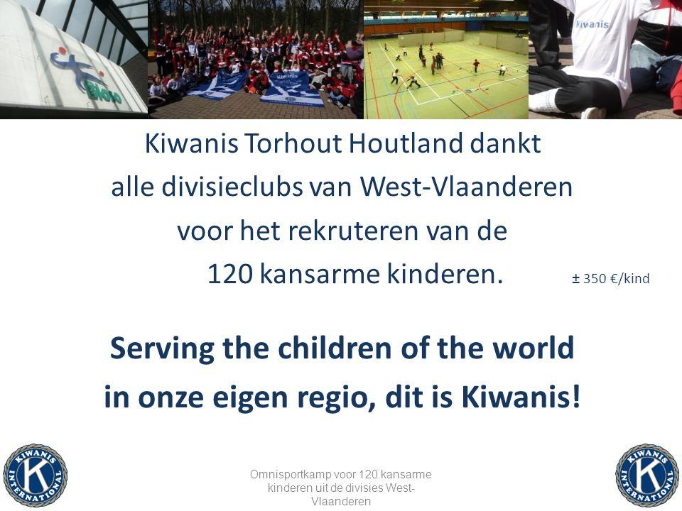 Kiwanis zoekt nog enkele sportvedetten om tijdens het blosokamp met de kinderen een korte training te houden .