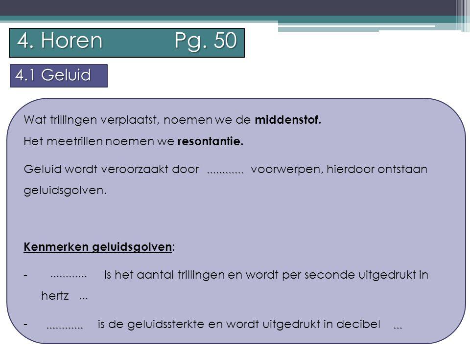 P.Feys - Sint – Jorisschool Menen 4. Horen Pg.