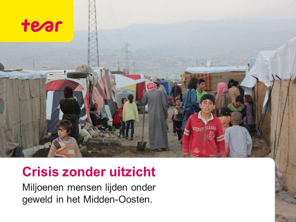 Crisis zonder uitzicht Miljoenen mensen lijden onder geweld in het Midden-Oosten.