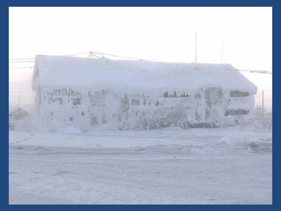 Wat zou u zeggen, als u 's morgens wakker wordt en een buitentempertuur vaststelt van - 71°c ? Zoiets kan u overkomen als u in Oymyakon woont. Er moet