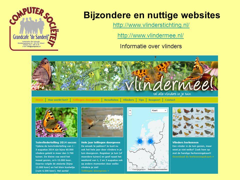 Bijzondere en nuttige websites http://www.vogelbescherming.nl// Informatie over vogels in Nederland