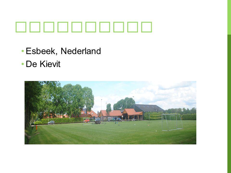 KAMPPLAATS Esbeek, Nederland De Kievit