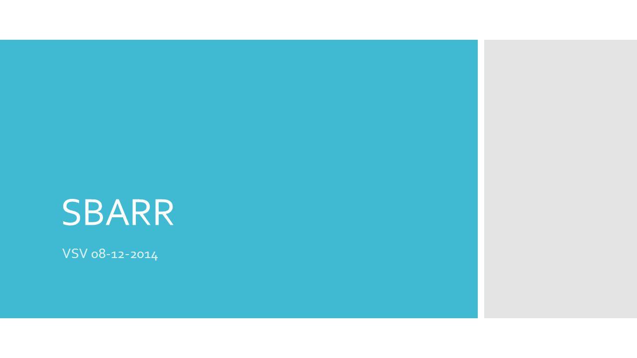 SBARR VSV 08-12-2014