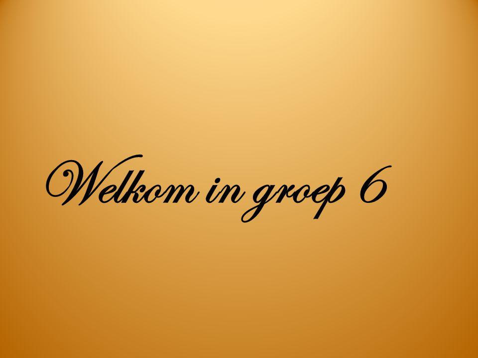 Welkom in groep 6