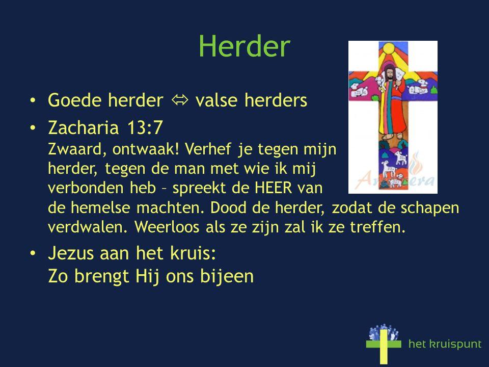 Herder Goede herder  valse herders Zacharia 13:7 Zwaard, ontwaak.