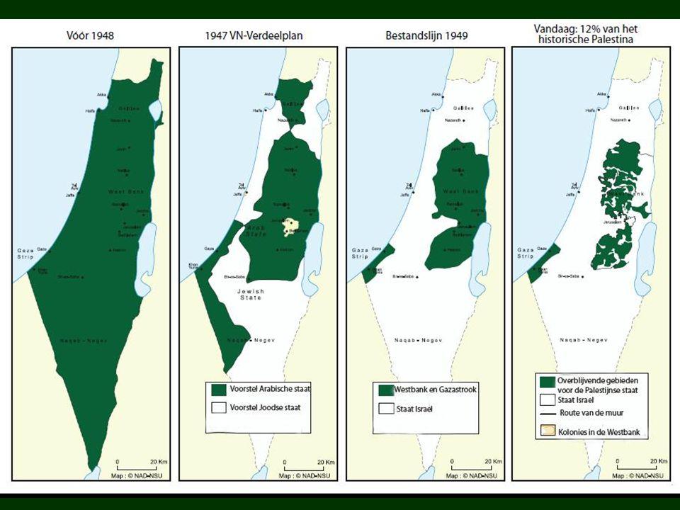 Palestijnen gevlucht én verdreven 750.000 tot 900.000 Palestijnse vluchtelingen (al naar gelang de bron): honderdduizenden vluchtten voor het oorlogsgeweld; honderdduizenden werden met geweld verdreven uit hun huizen.