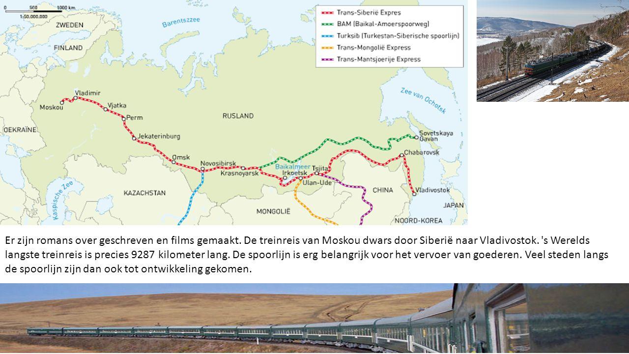 Er zijn romans over geschreven en films gemaakt. De treinreis van Moskou dwars door Siberië naar Vladivostok. 's Werelds langste treinreis is precies
