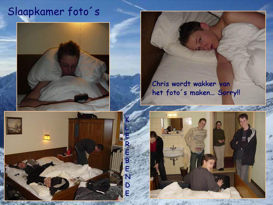 Slaapkamer foto´s Chris wordt wakker van het foto´s maken… Sorry!! KLEREBENDEKLEREBENDE