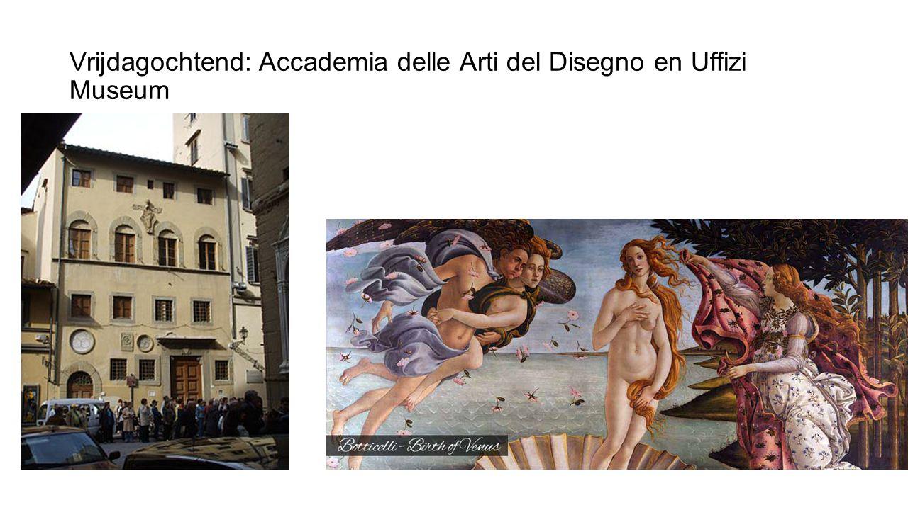 Vrijdagmiddag: Loretta Caponi (kant, handwerken)Santa Maria Novella: Officina Profumo Farmaceutica