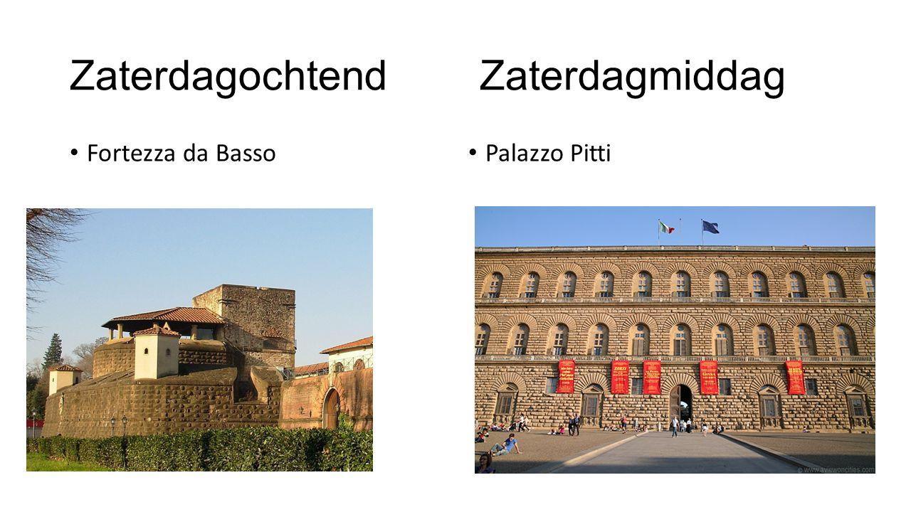 Zaterdagmiddag: Palazzo Pitti Zilvermuseum Kostuummuseum