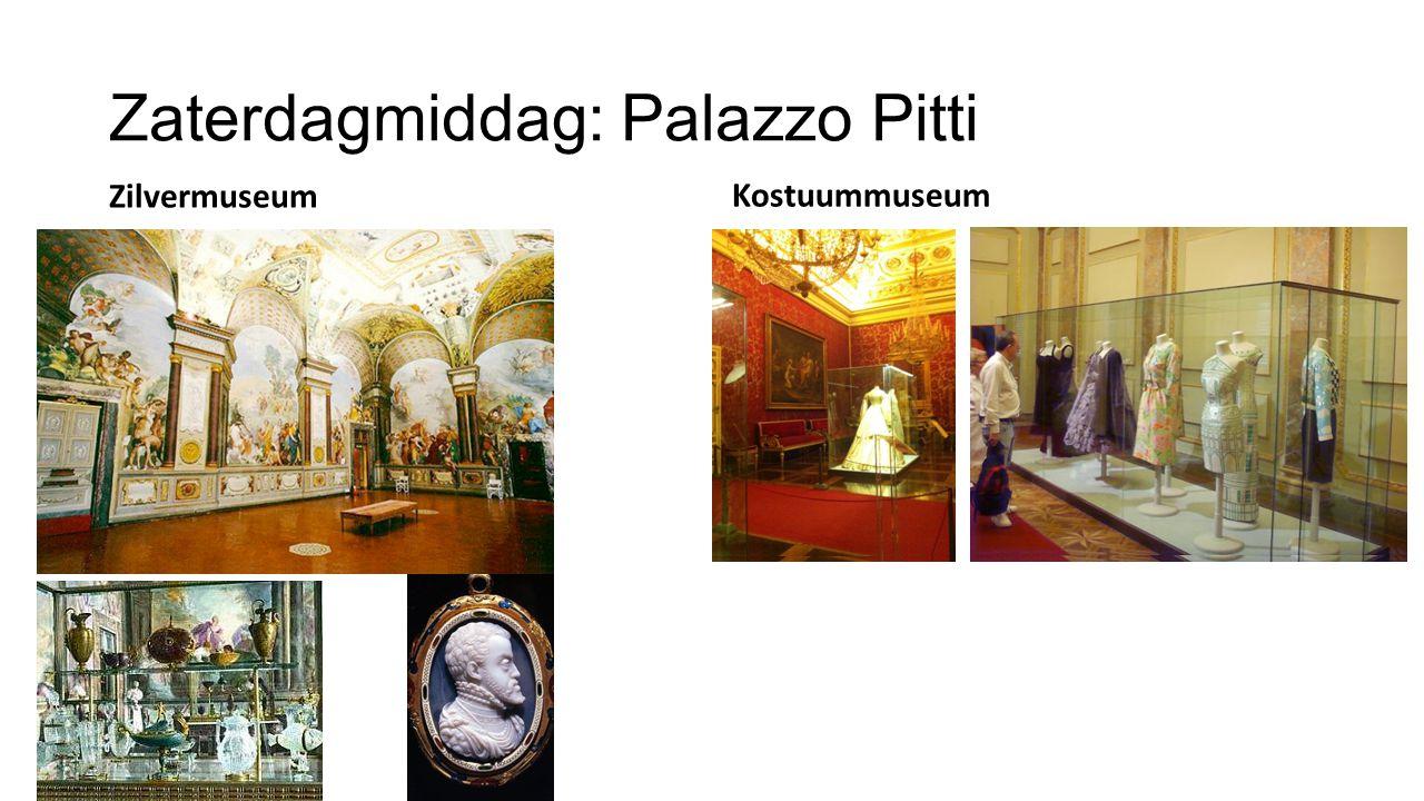 Zaterdagavond: Galadiner Palazzo Guicciardini