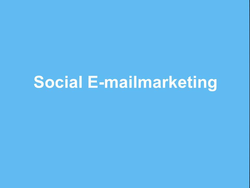 Social E-mailmarketing