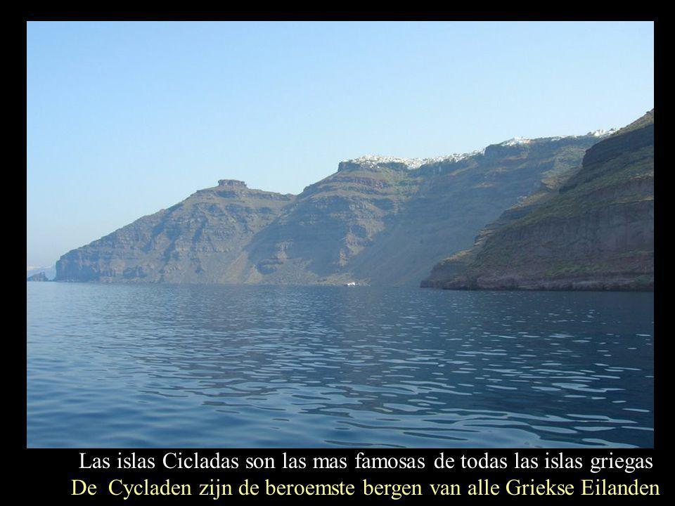 La fotogénica Santorini es la mejor embajadora de este conjunto Het fotogenieke Santorini is de beste ambassadeur van deze site Música