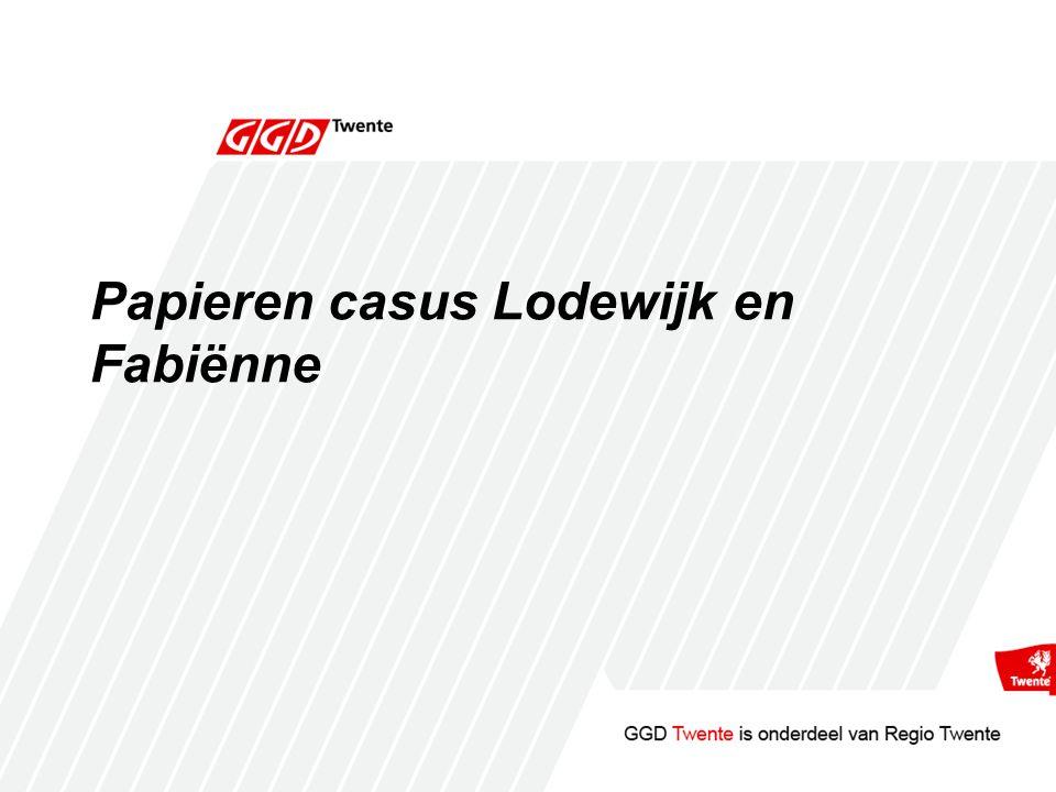 Papieren casus Lodewijk en Fabiënne