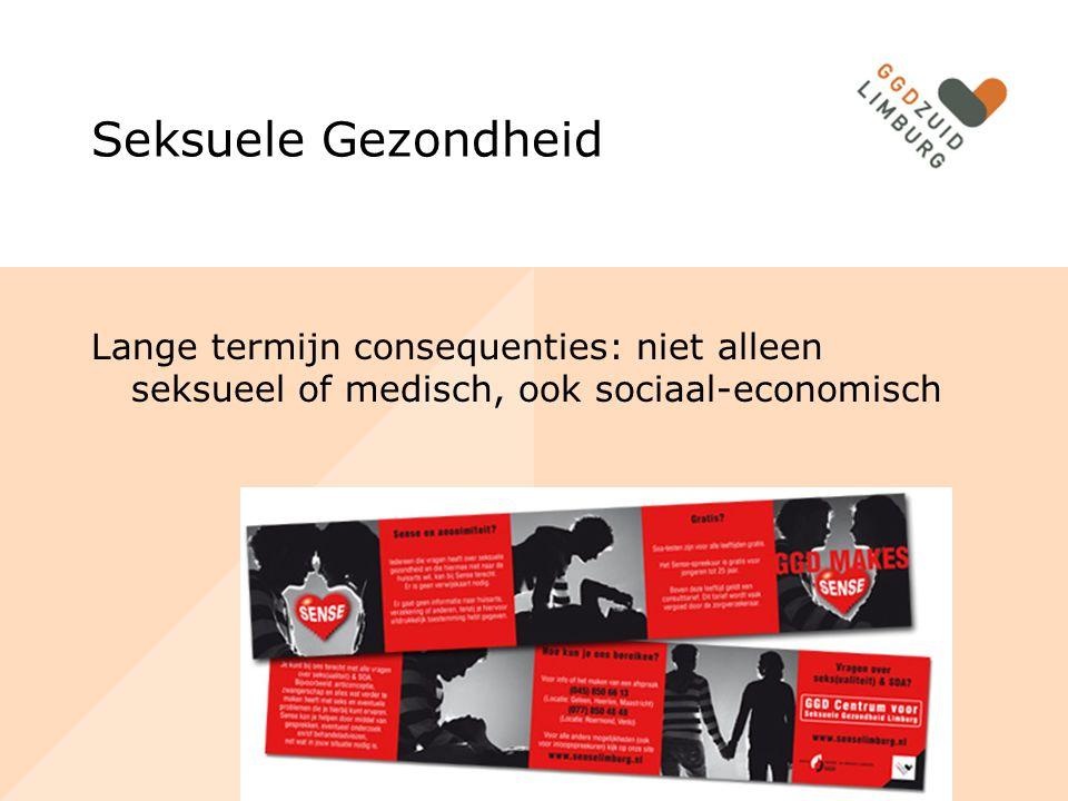 Seksuele Gezondheid Lange termijn consequenties: niet alleen seksueel of medisch, ook sociaal-economisch