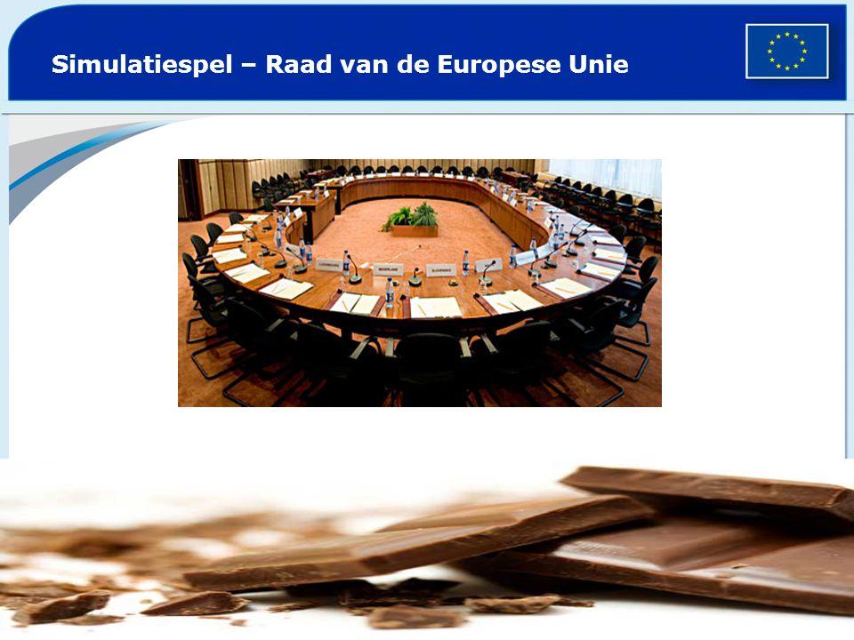 Probleem Europese Commissie: Chocolade is de algemene benaming geworden van allerlei producten op basis van cacao EU interne markt: vrij verkeer van goederen