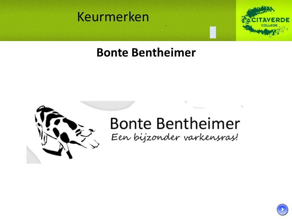 Bonte Bentheimer Keurmerken