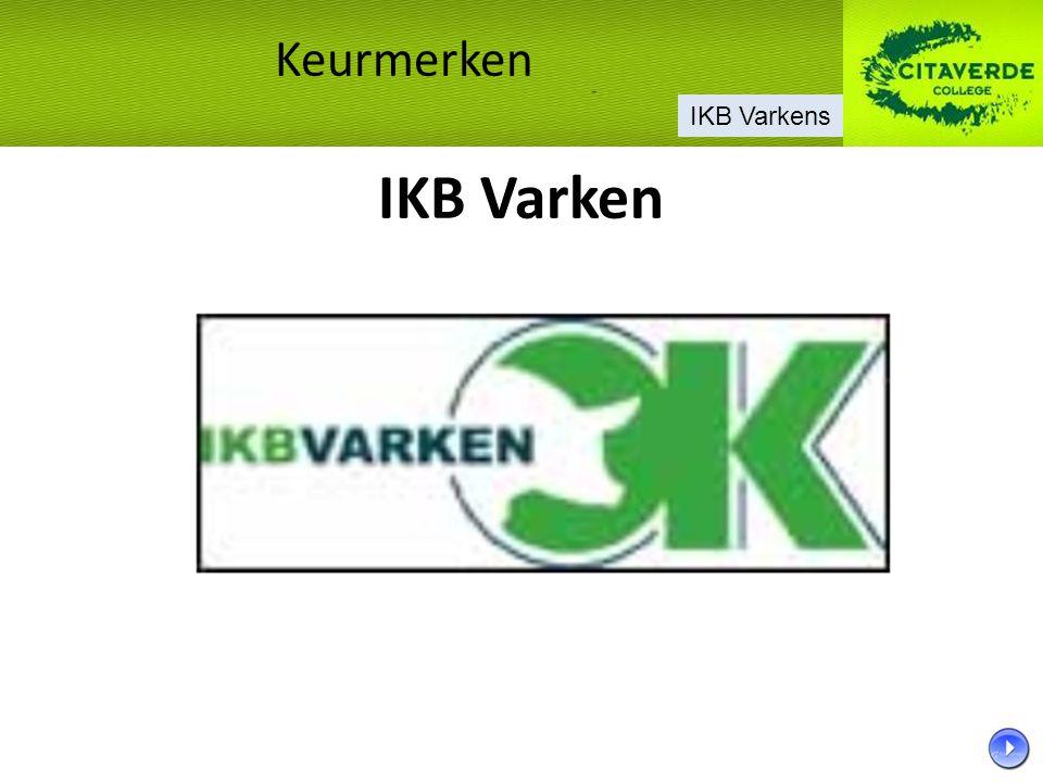 IKB Varken Keurmerken IKB Varkens