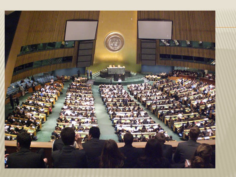  (Veiligheidsraad)  Is the real power in the UN.