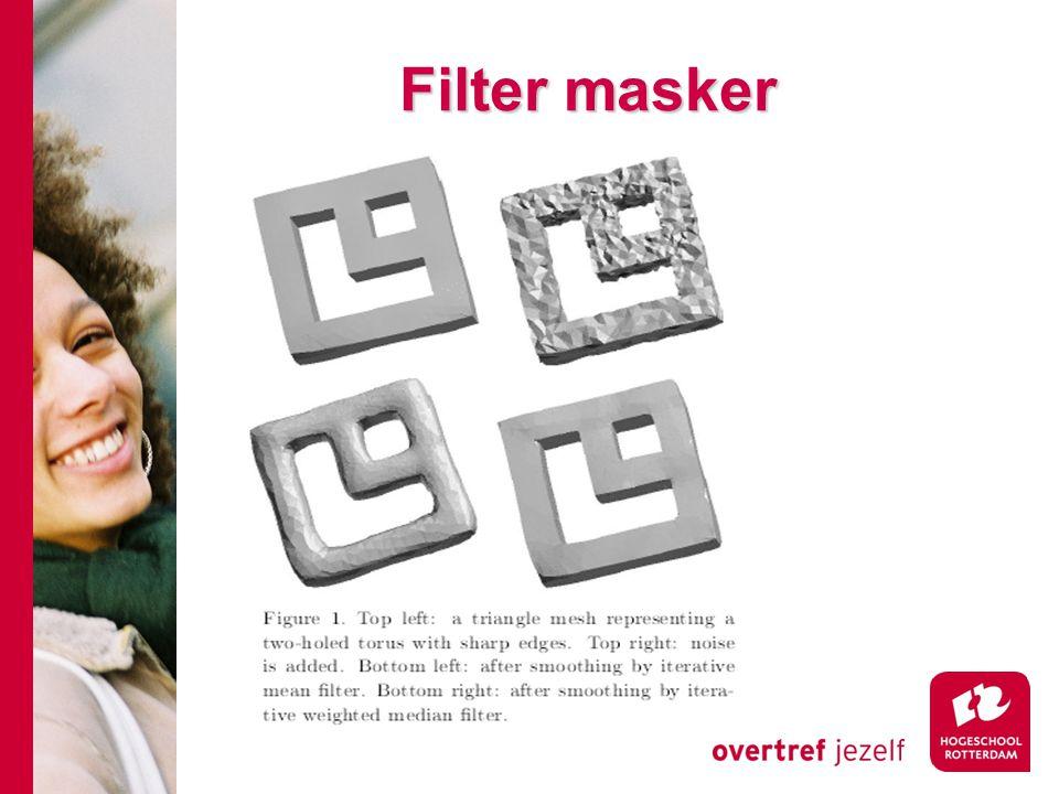 # Filter masker