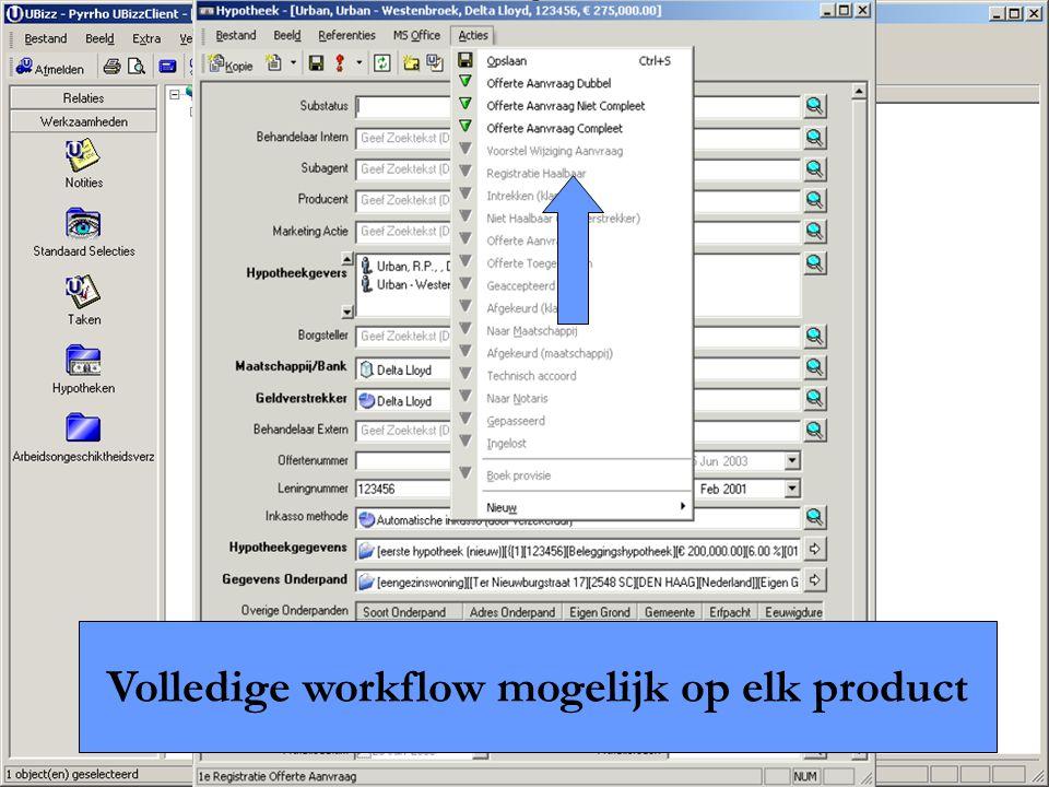Pyrrho Advanced Industry Solutions B.V. Volledige workflow mogelijk op elk product