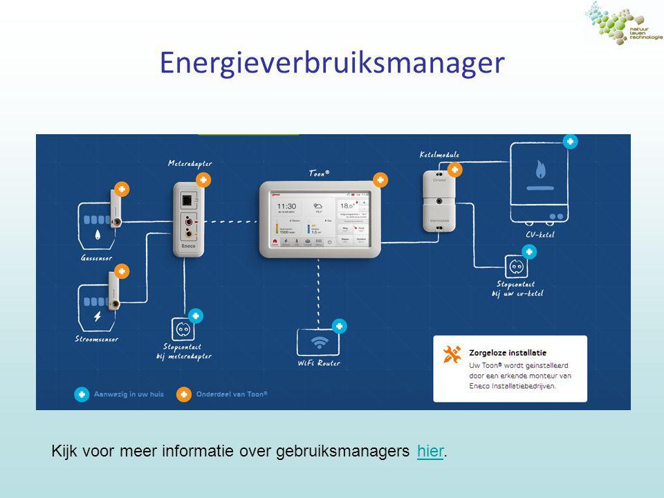 Onderzoek je elektriciteitsgebruik Maak een lijst van elk soort elektrisch apparaat dat je in huis hebt –Noteer het apparaat, de plaats en het vermogen ( kW ) –Schat de gebruikstijd ( uur per dag, denk aan thermostaten.