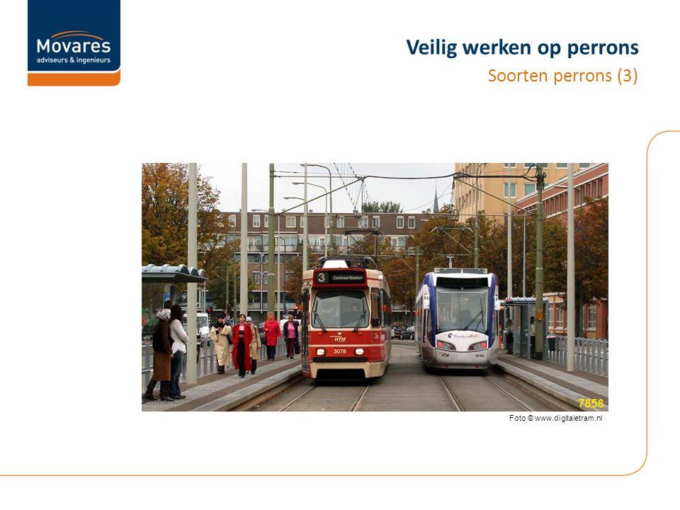 Veilig werken op perrons Soorten perrons (3) Foto © www.digitaletram.nl